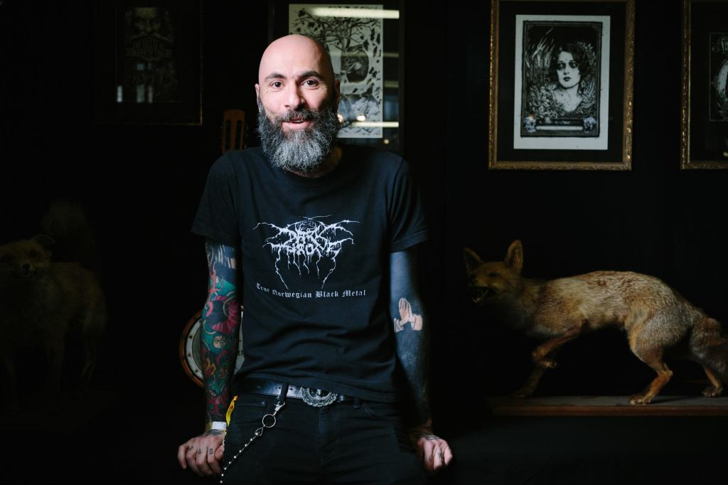 Jean Luc Navette, invité de The Ink Factory, convention de tatouage à Lyon