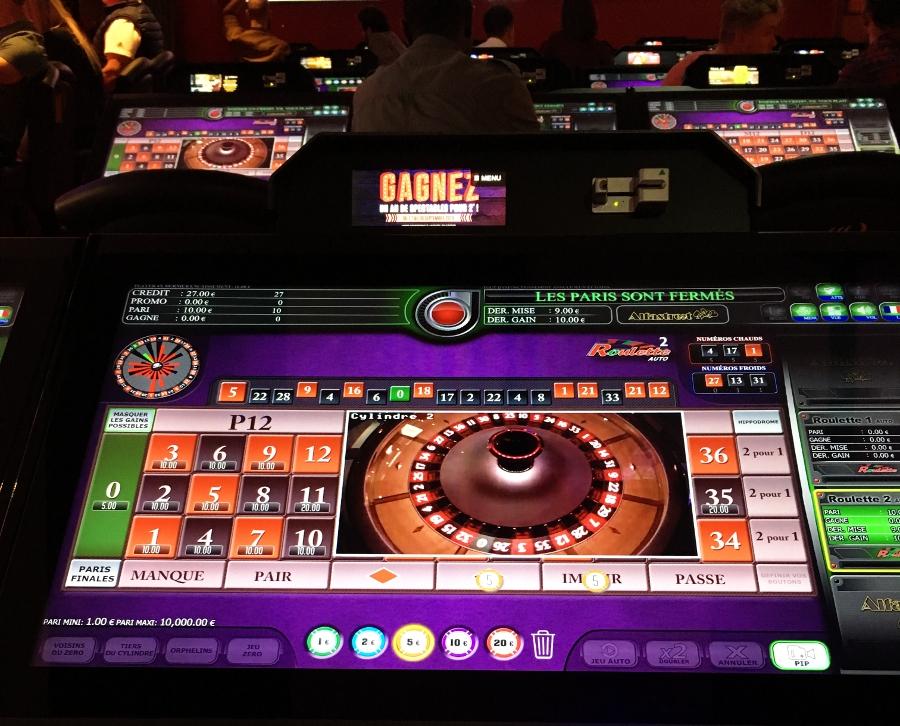 Roulette Anglaise Electronique au Casino Le Lyon Vert