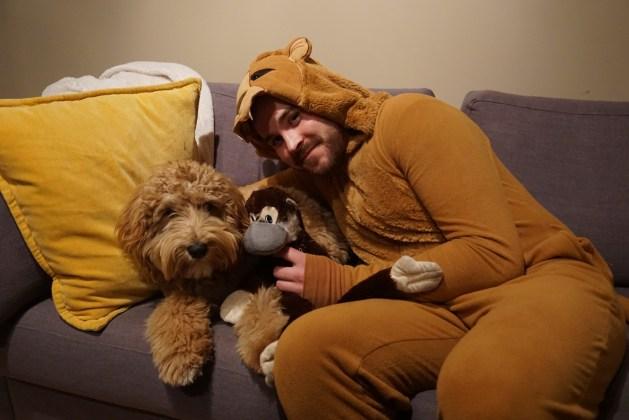 Odin & Adam at Halloween