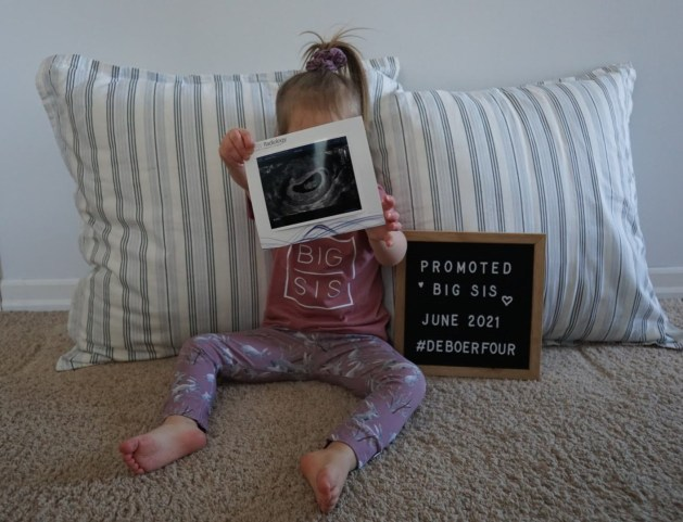 Annika Baby Fish Announcement