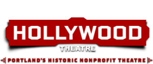 "Hollywood Theatre logo, ""Portland's Historic Nonprofit Theatre"""
