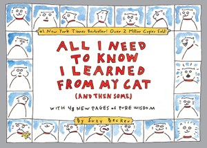 All I need to know I learned from my cat book cover