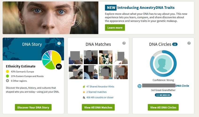 How to access Ancestry DNA results