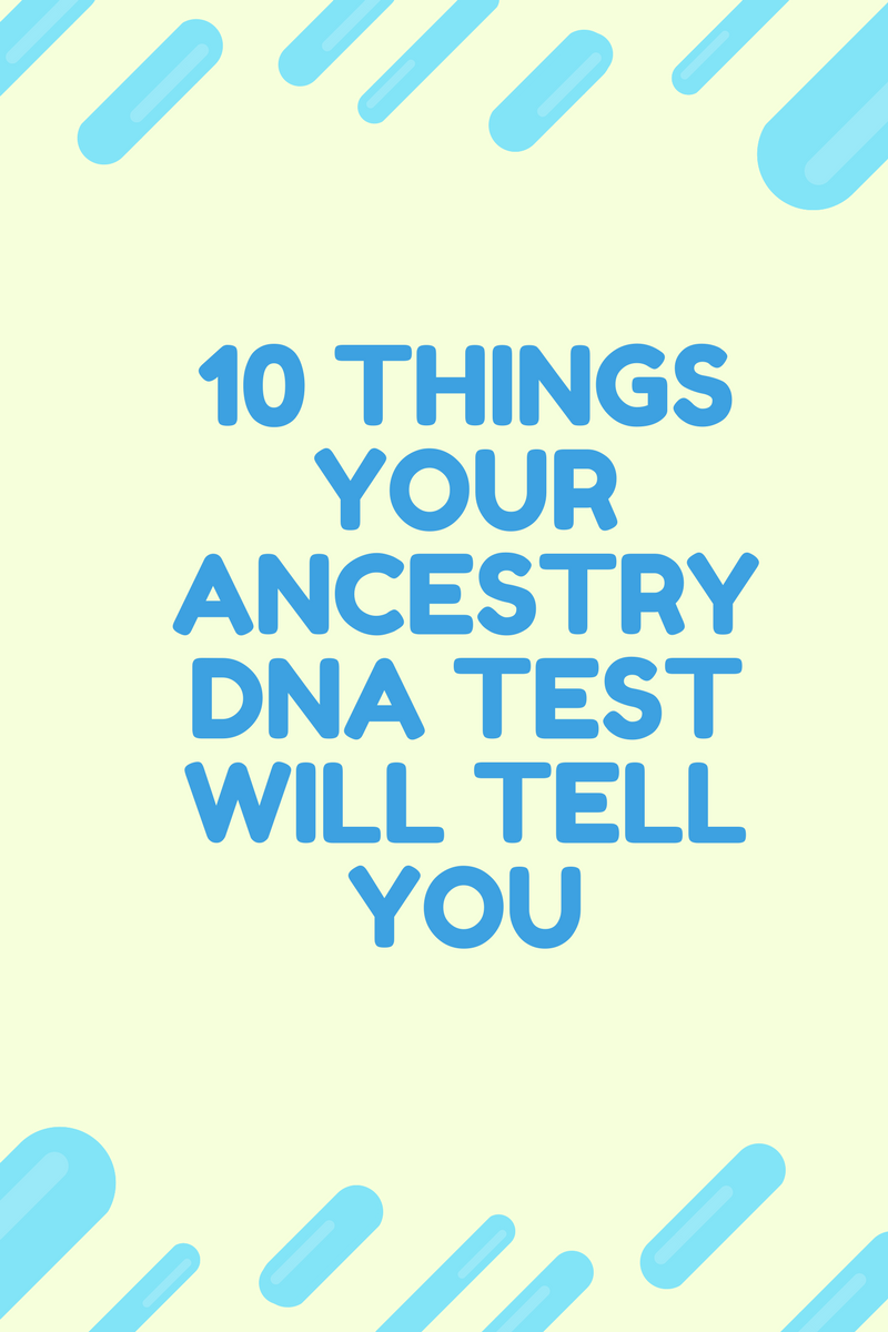 what does ancestry dna tell you