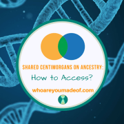Shared Centimorgans on Ancestry: How to Access?