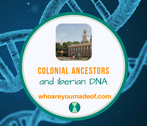 Colonial Ancestors and Iberian DNA
