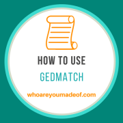 How To Use Gedmatch: the Basics