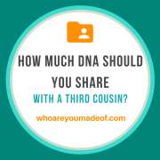 How Much DNA Should You Share With a Third Cousin?