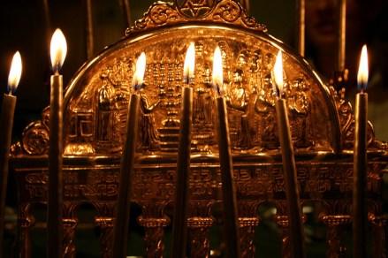 Hanukkah Menorah and Jewish Ancestry
