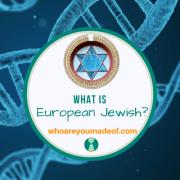 What is European Jewish?