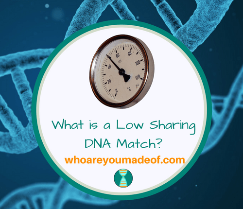 What is a Low Sharing DNA Match_
