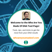 Genetic Genealogy Tools and Resources