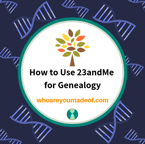 How to Use 23andMe for Genealogy
