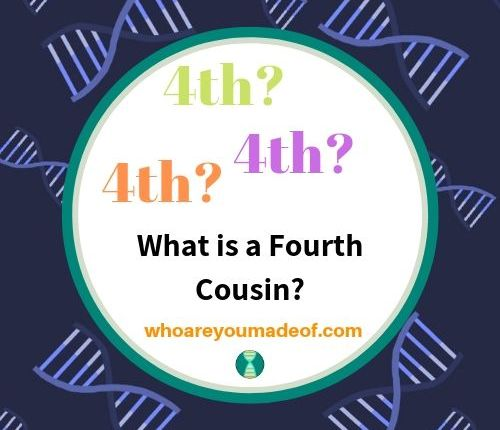 """Image describing the subject of the article, """"What is a Fourth Cousin?"""""""
