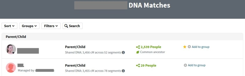 how to filter and sort ancestry dna matches