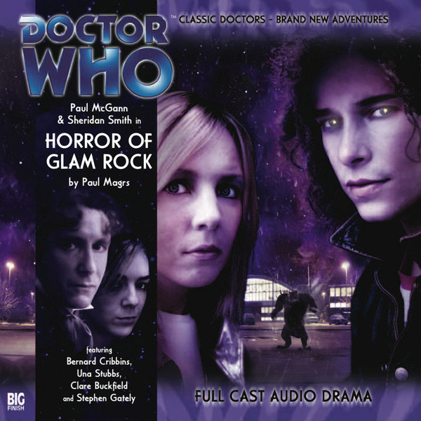 Doctor Who A002 Horror of Glam Rock cover