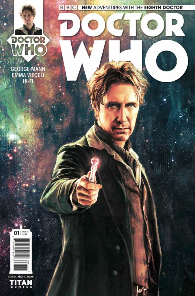 new adventures with the eigth doctor comic book titan comics whobackwhen