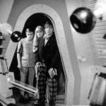 the second doctor, ben and polly find two daleks
