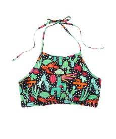 Cactus Bikini Top