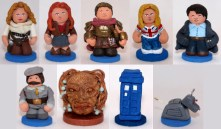 Companion pawns for custom Doctor Who Chess Set.