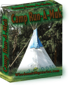 All-girl summer camp mystery game with ghost sightings, haunted happenings, and fun and laughter galore. A fun sleepover or birthday party idea.
