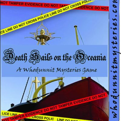 World War II Ship Spy Party Game Murder Mystery Party