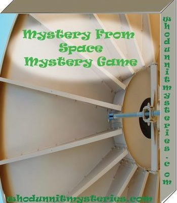 A Mad Scientist in Space Murder Mystery Game