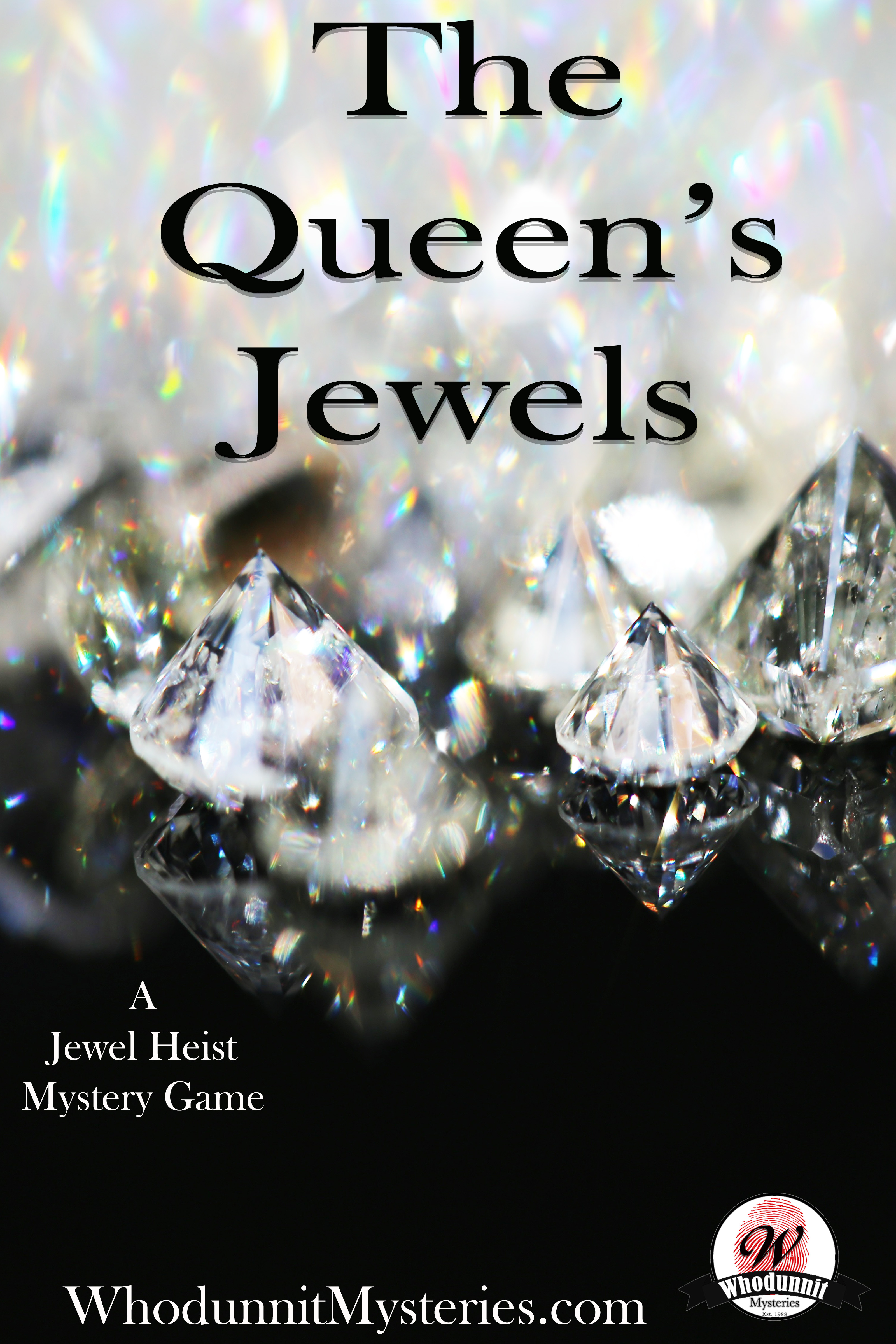 The Queen's Jewels: A Thrilling New Year's Eve Costume Party Mystery