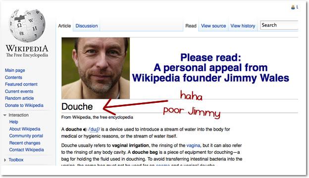 Wikipedia + Donations