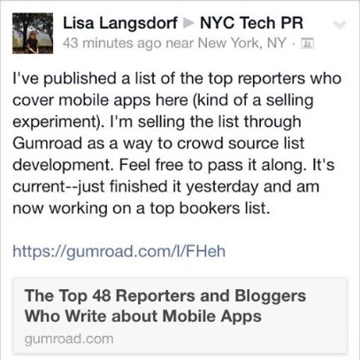 Don't Email with Lisa Langsdorf…