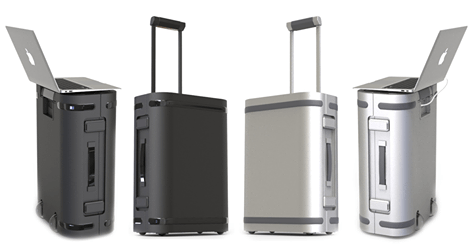 KICKSTARTER WARNING: The Samsara Carry-On Suitcase