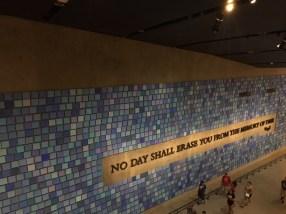 911 Memorial Wall