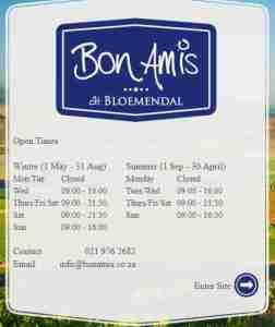 Bon Amis Contact Details , Phone Number , Sushi Special , Menu