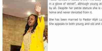 Pastor Celeste J. Lukau , Biography , Contact Details , Wiki , AGE.