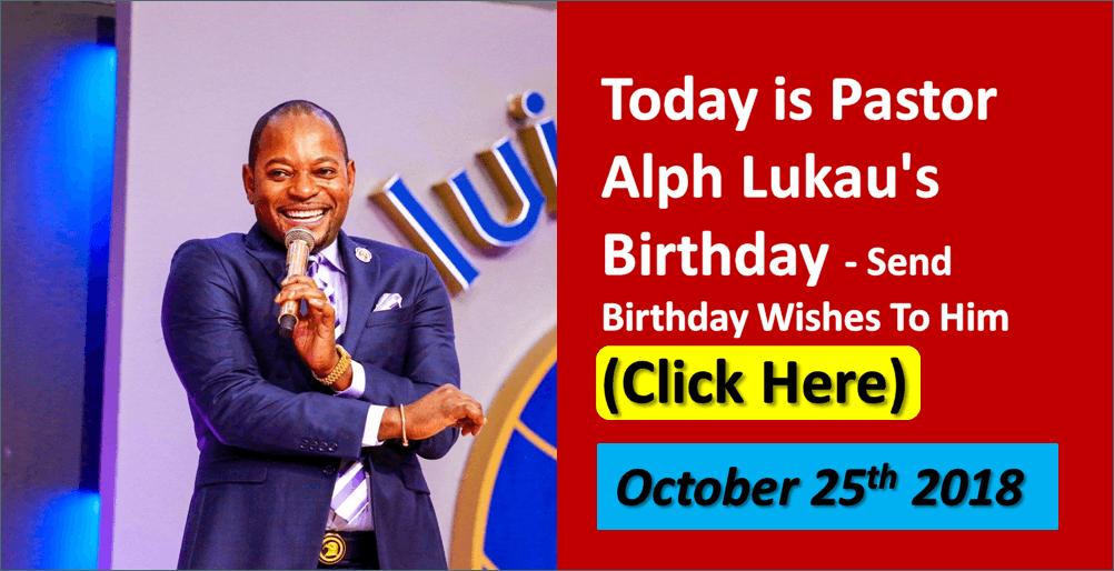 Today Is Pastor Alph Lukaus Birthday Send Birthday Wishes To Him Click Here Pastor Alph Lukau