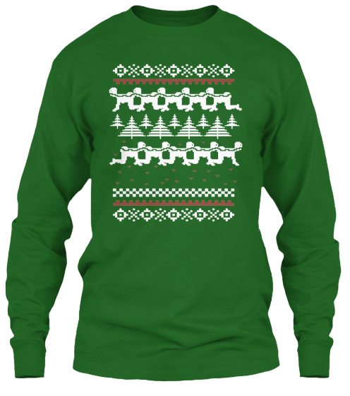Human Centipede Christmas Sweater, It's the Shit! - ScareTissue