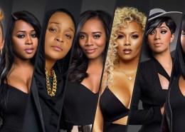 7 Women in black clothing