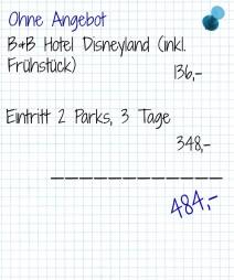 Disneylandohneangebot