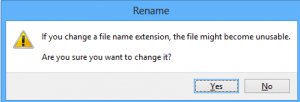 change file extension
