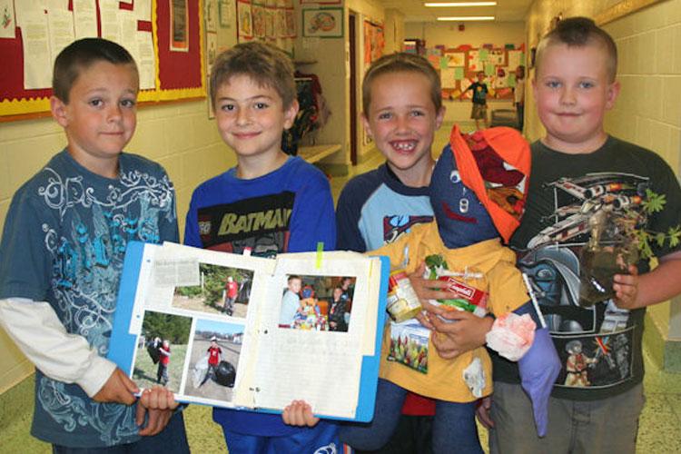 Kincardine Township-Tiverton Public School - Who Is NOBODY? Project
