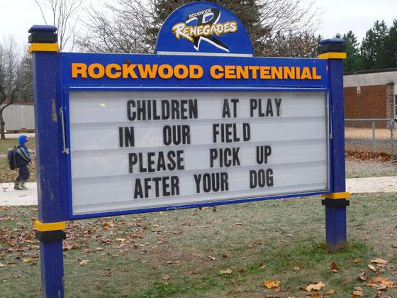 Rockwood Centennial Public School - Upper Grand District School Board - Who Is NOBODY?