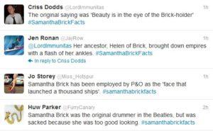 Samantha Brick - Who Is NOBODY?