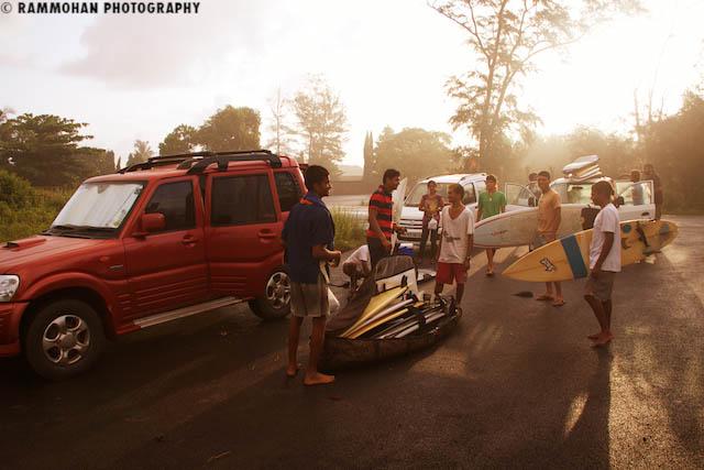 Surfers Assemble - Mangalore Jetty