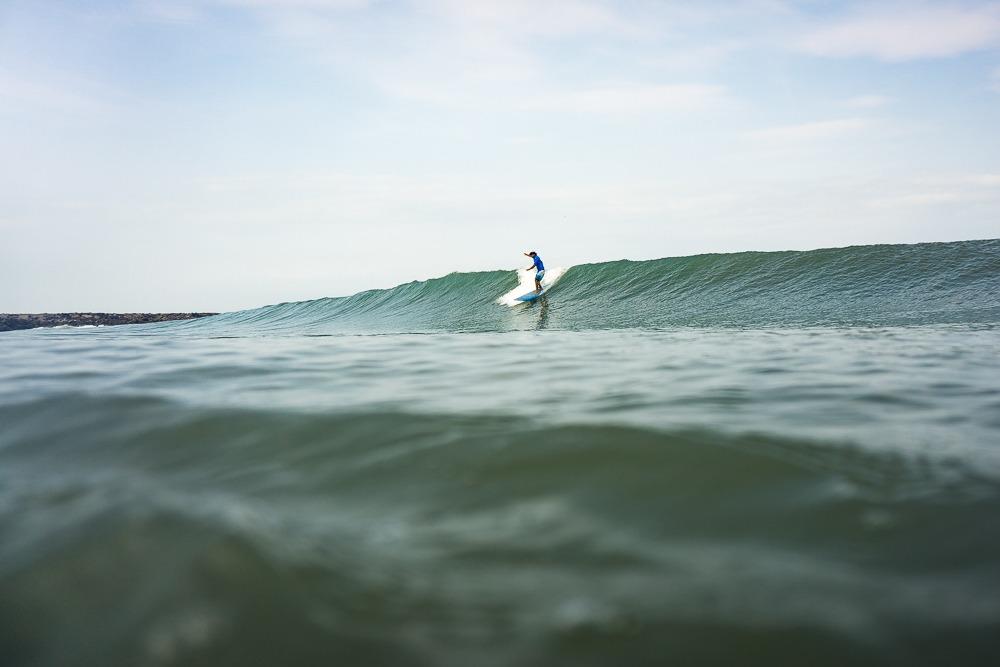 Longboarding Waves - Mangalore, Karnataka, India