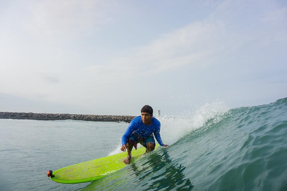 Surfing Banana Longboard