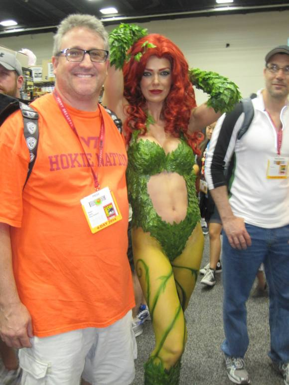 Rob Harris & Adrianne Curry Poison Ivy Comic Con San Diego