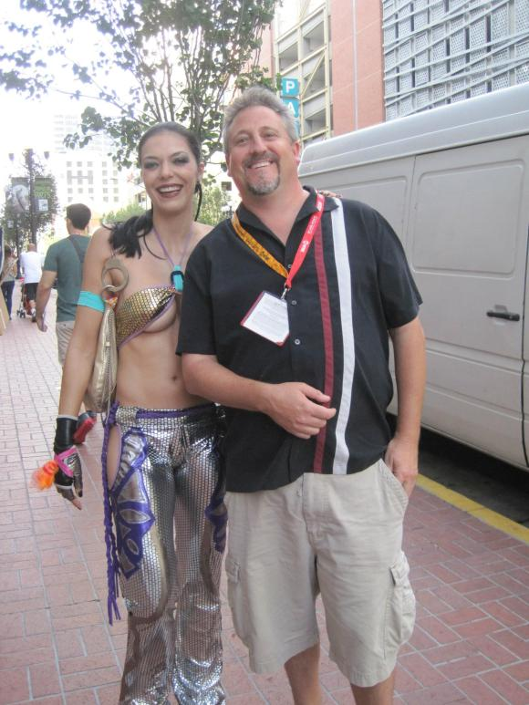 Adrianne Curry & Rob Harris