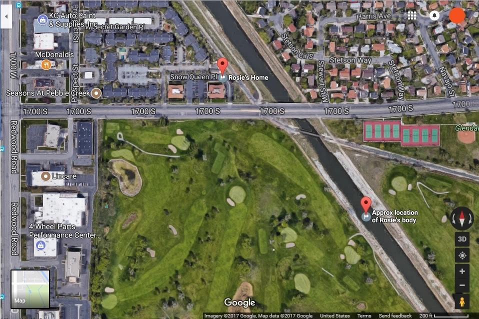 Rose Tapia Utah Murder Area