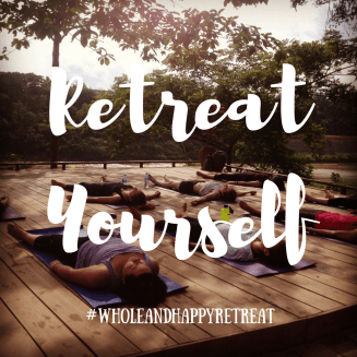 #wholeandhappyretreat