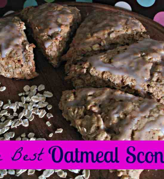 The Best Oatmeal Scones